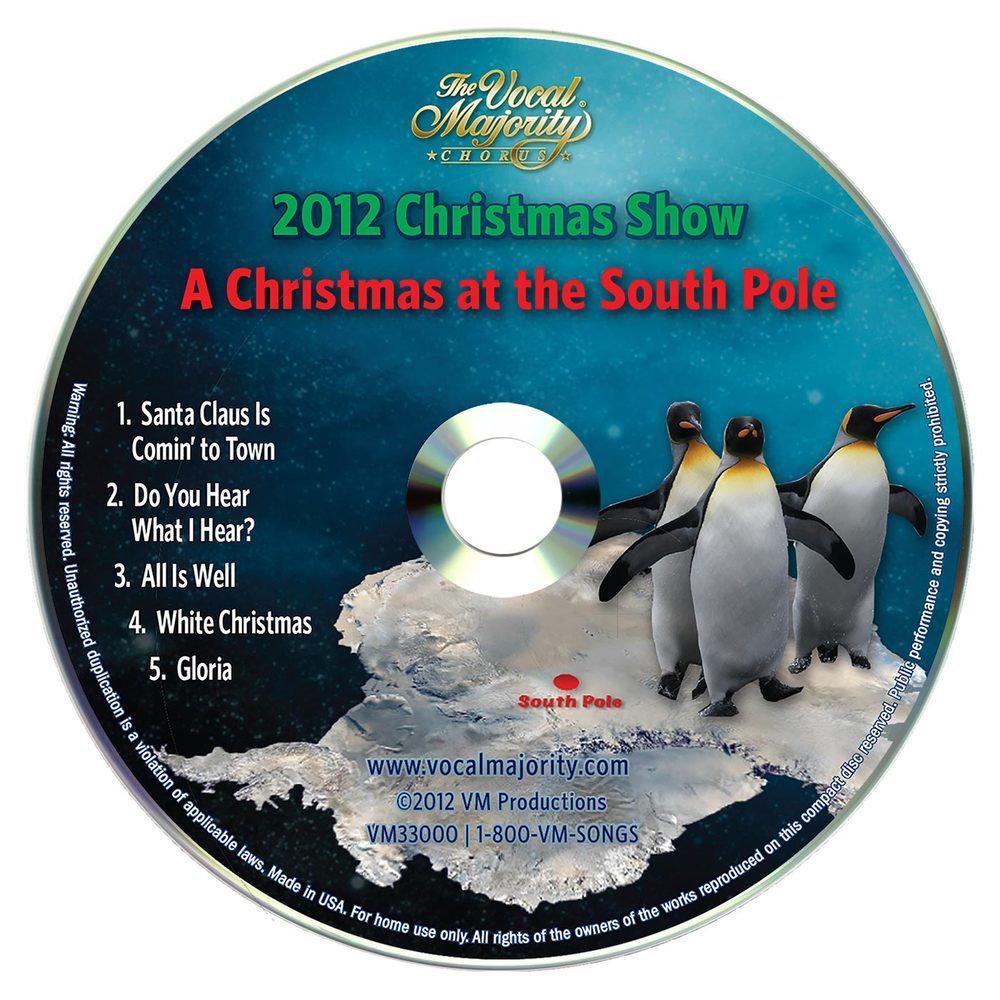 Disc Art: A Christmas at the South Pole