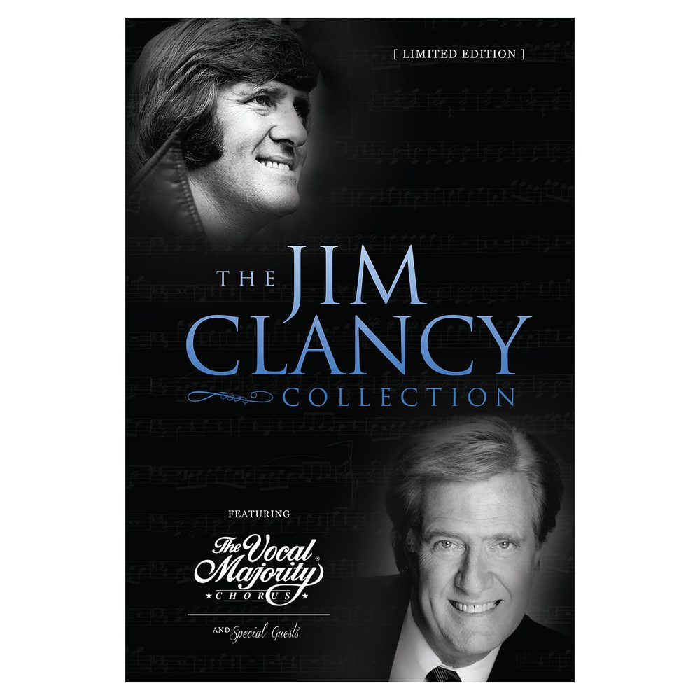 Booklet Front Cover: Jim Clancy Collection