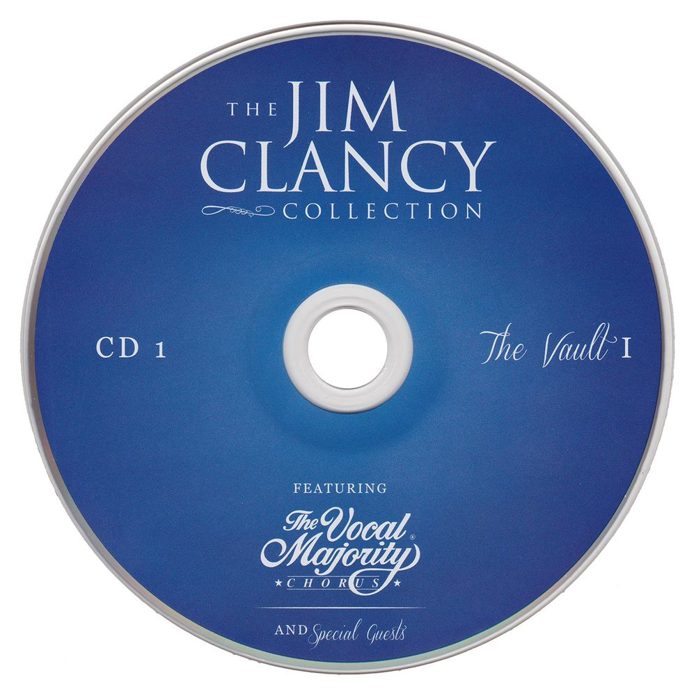 Disc Art CD 1: Jim Clancy Collection