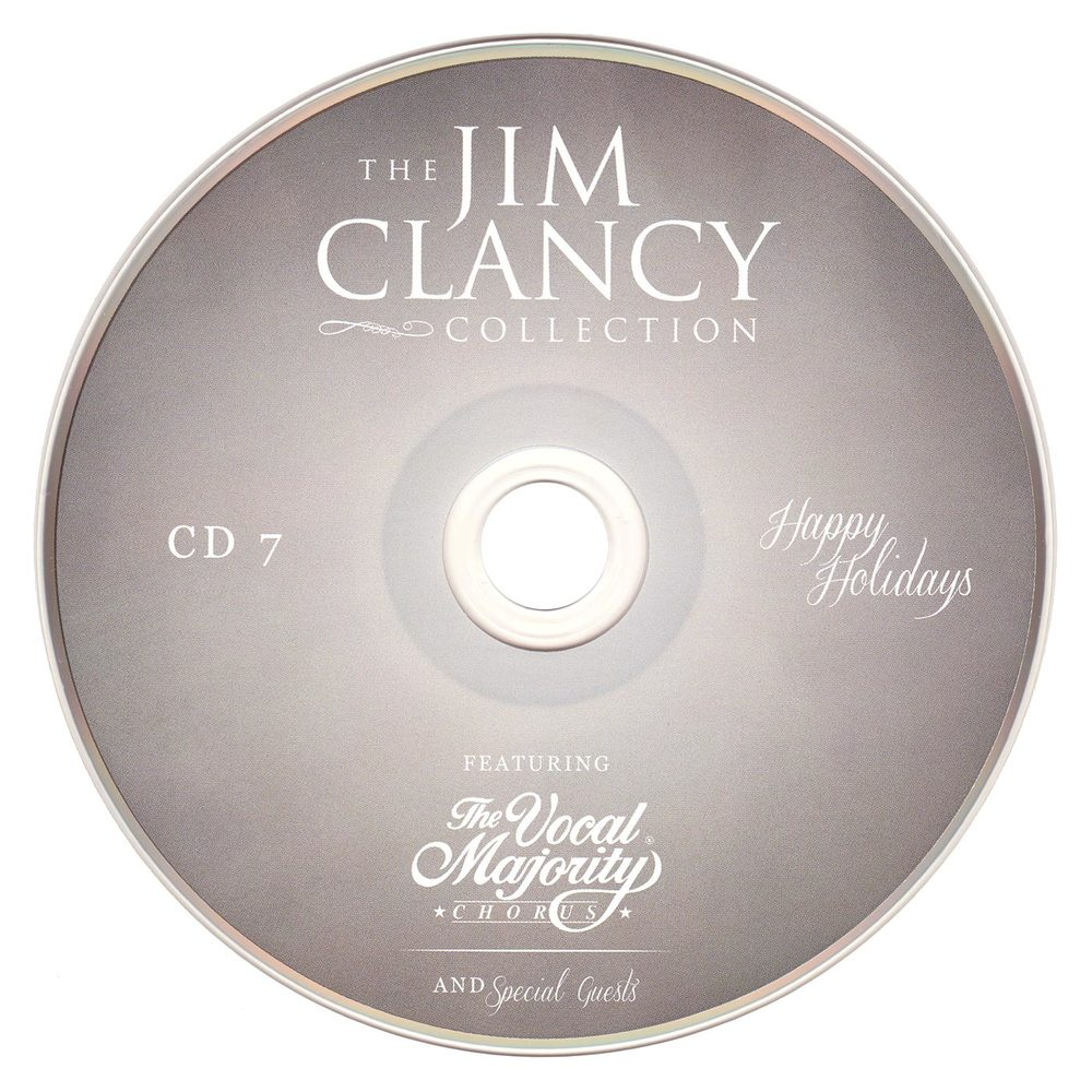 Disc Art CD 7: Jim Clancy Collection