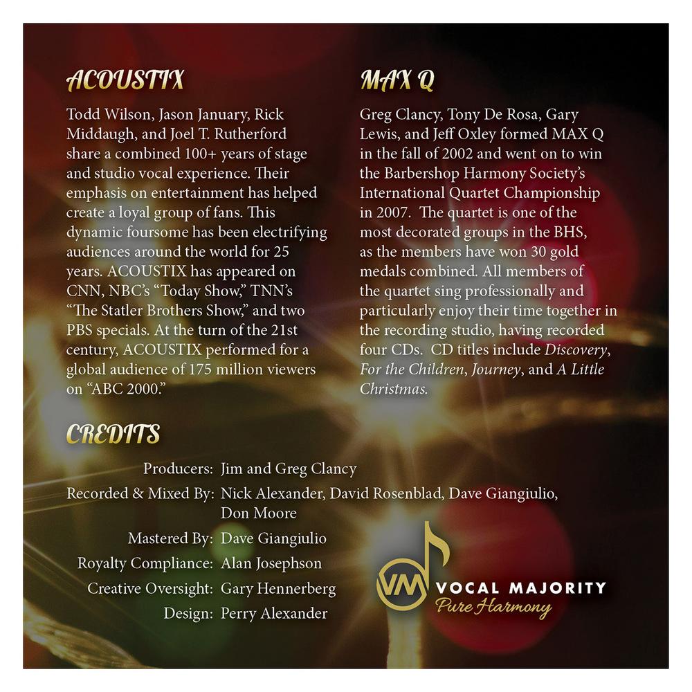 Booklet Inside Right Panel: The Spirit of Christmas