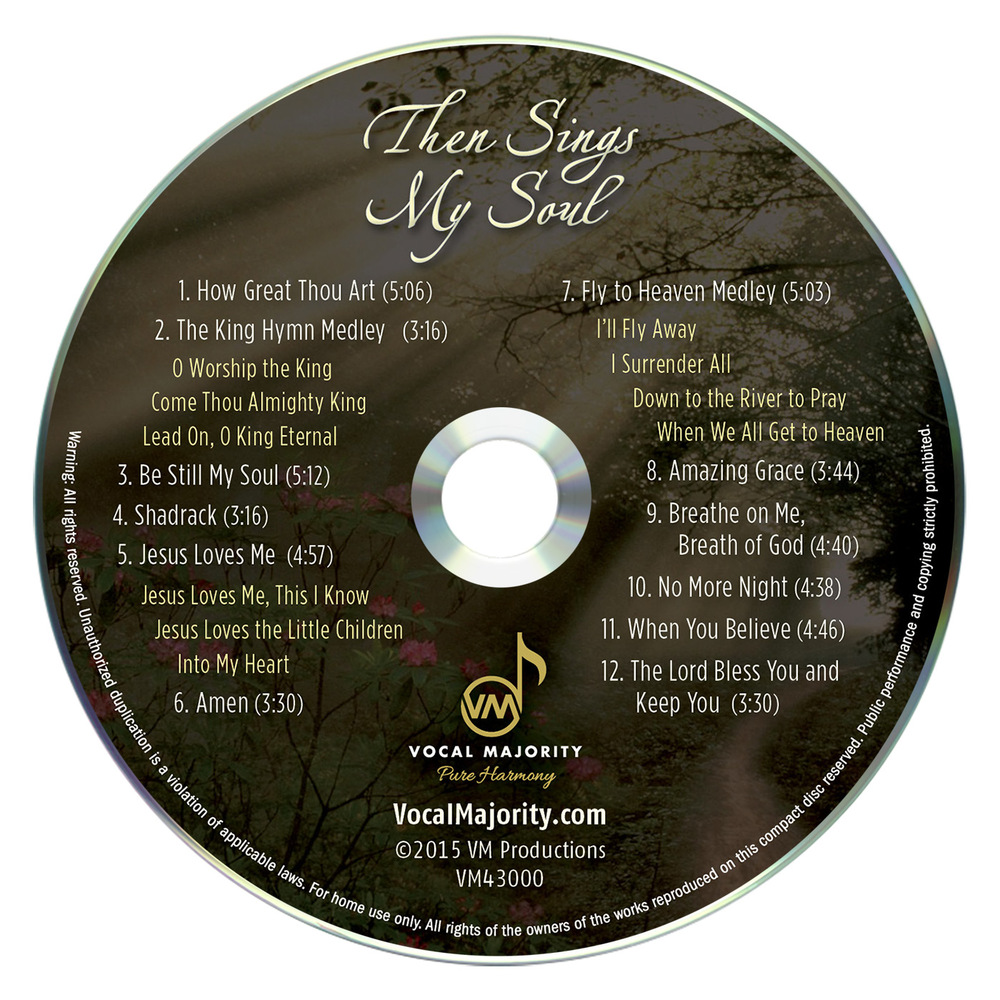 Disc Art: Then Sings My Soul