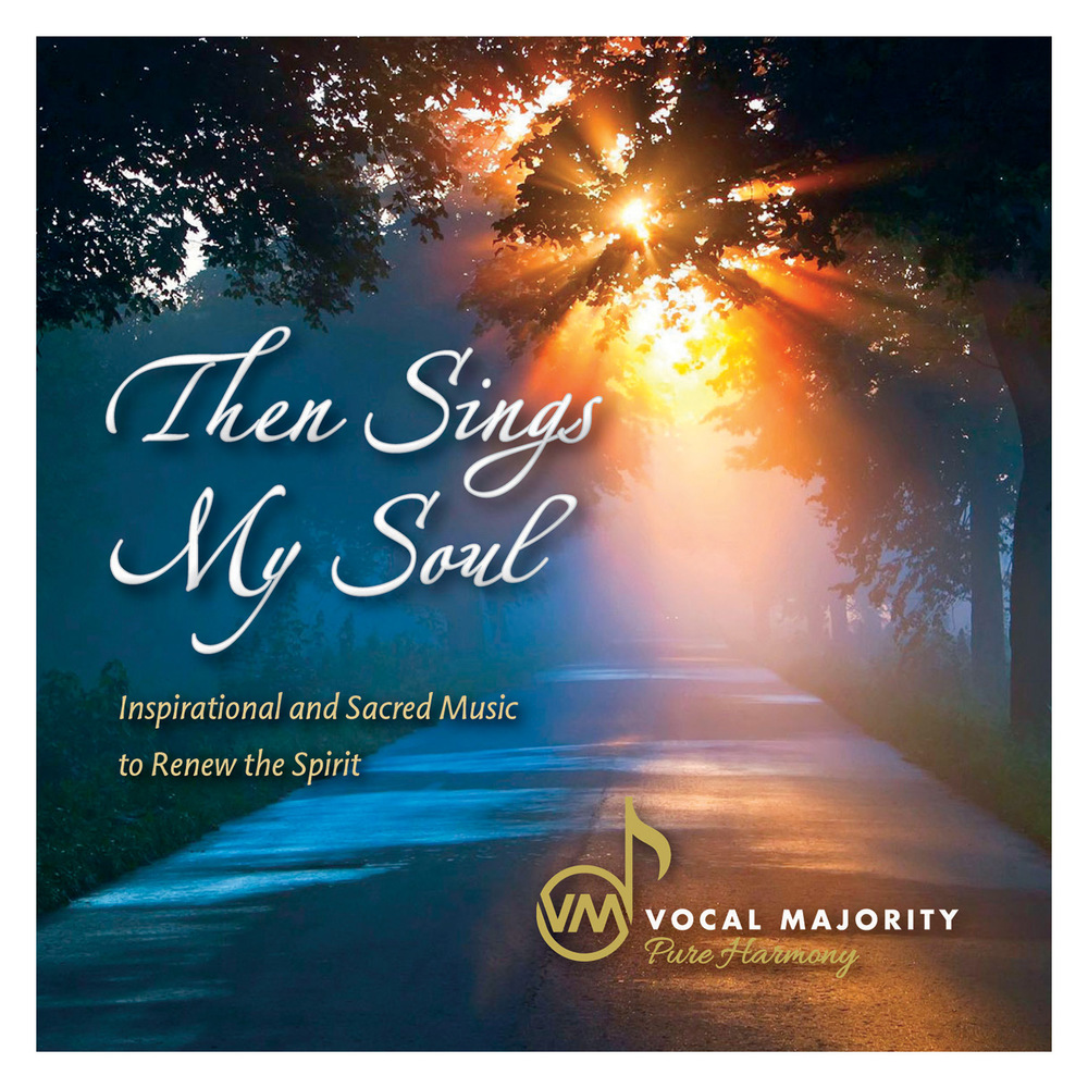 Booklet Front Cover: Then Sings My Soul