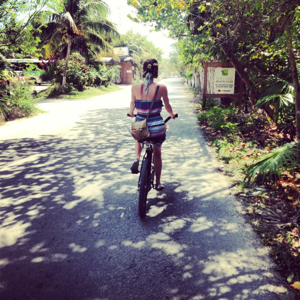 Everyday is a perfect day for a bike ride in Tulum!