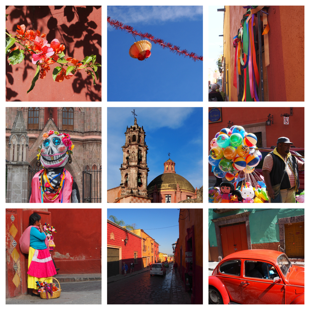 The Colours of San Miguel De Allende