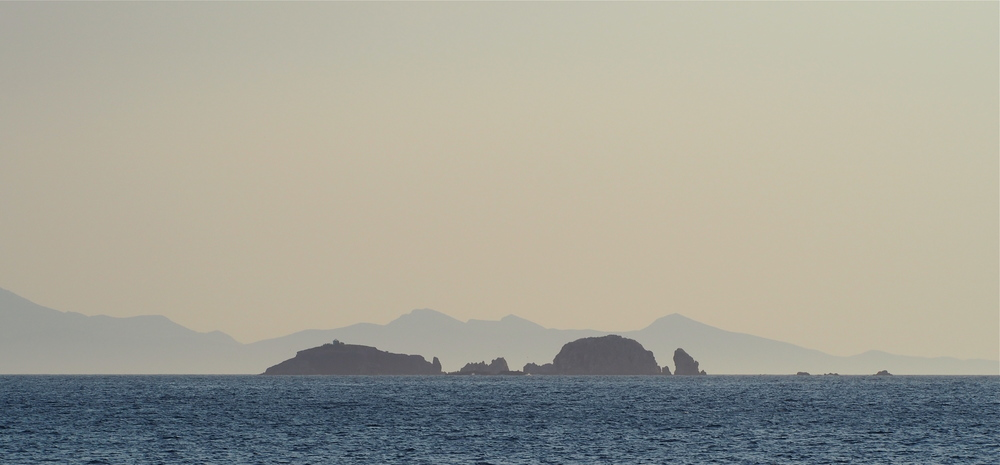 Upon setting foot in Parikia, Paros (our home base) this view of Anti Paros emerges in the distance. A pleasant sight after 12+ hours of travel.