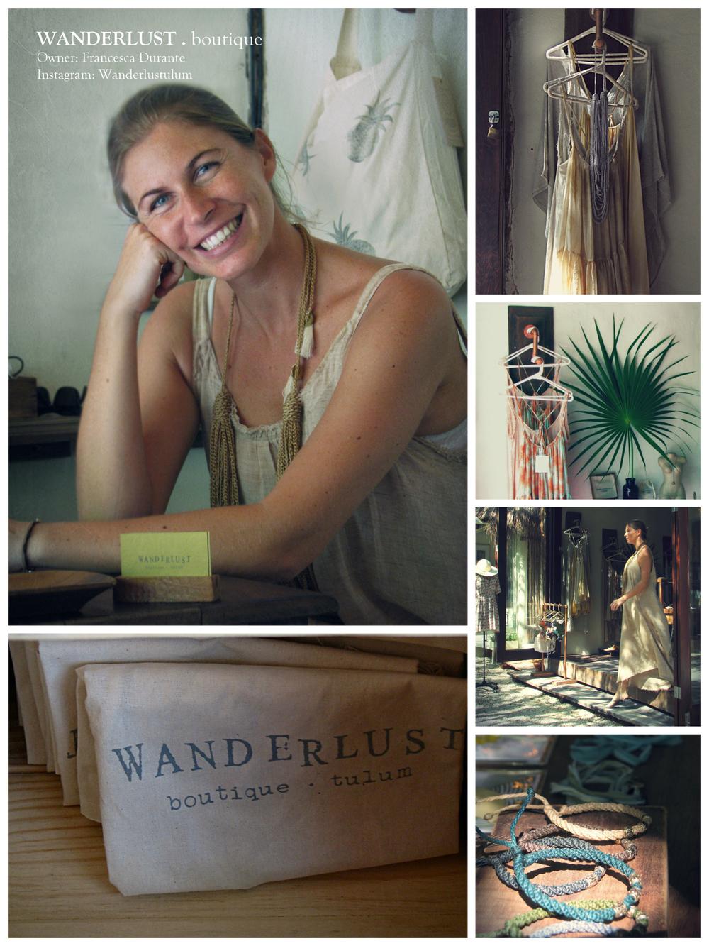 Francesca Durante of Wanderlust, Tulum