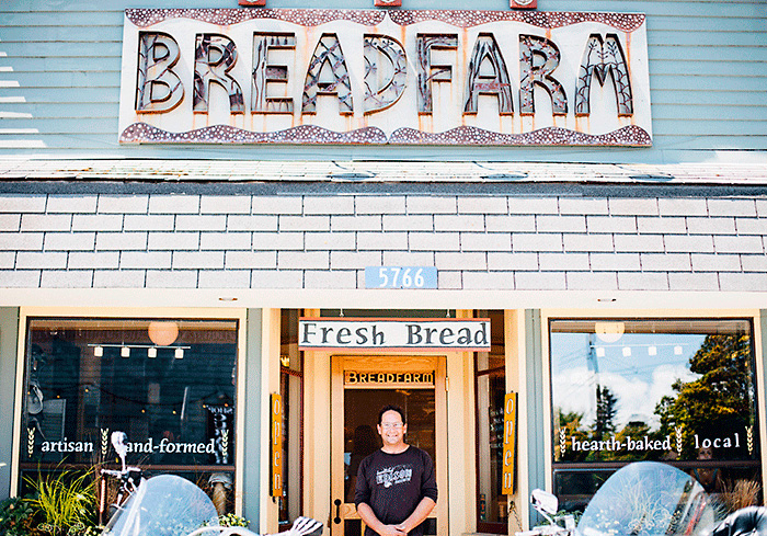Scott Mangold, the owner of Bread Farm.