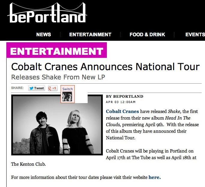 Read it here:   Be Portland