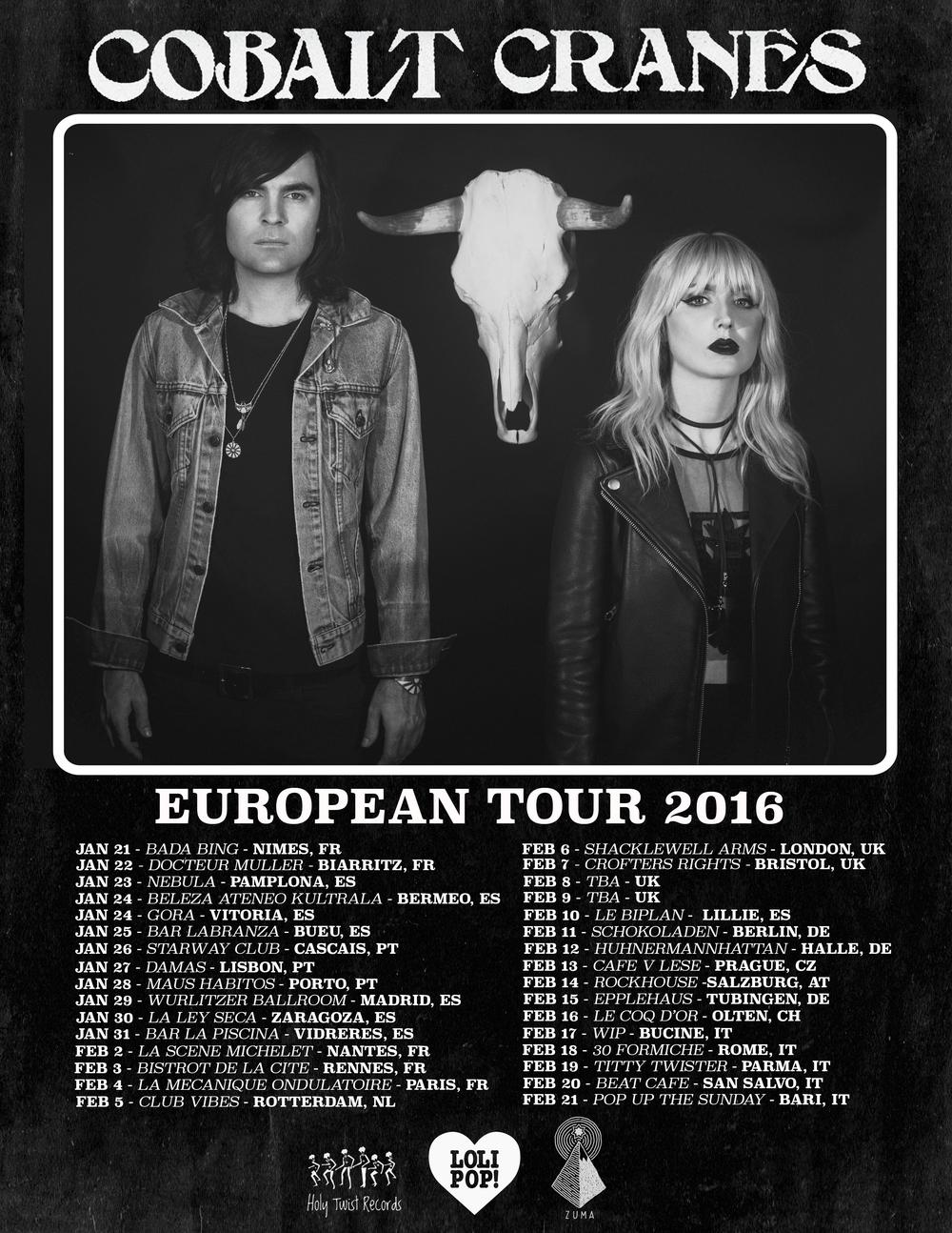 ~EUROPEAN TOUR~