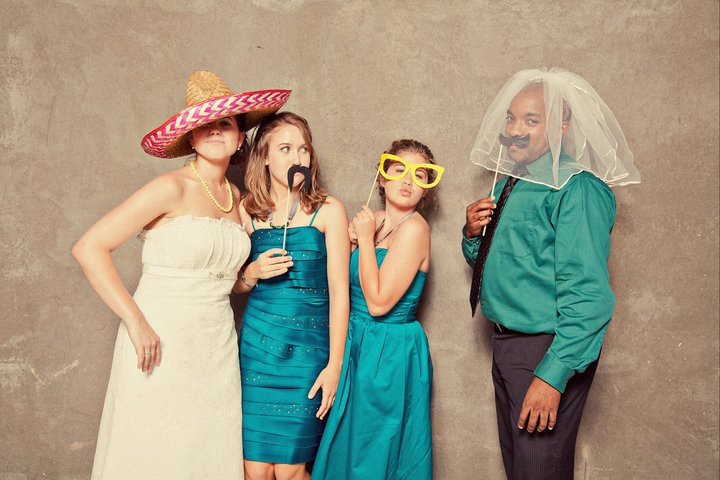 From left to right: Me on my wedding day, Alissa, my lovely friends Lauren and Vincent. Photo compliments of  Two Pair Photography