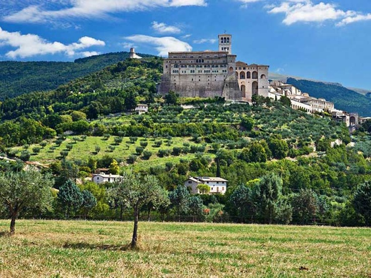 Assisi, Italy from Italia