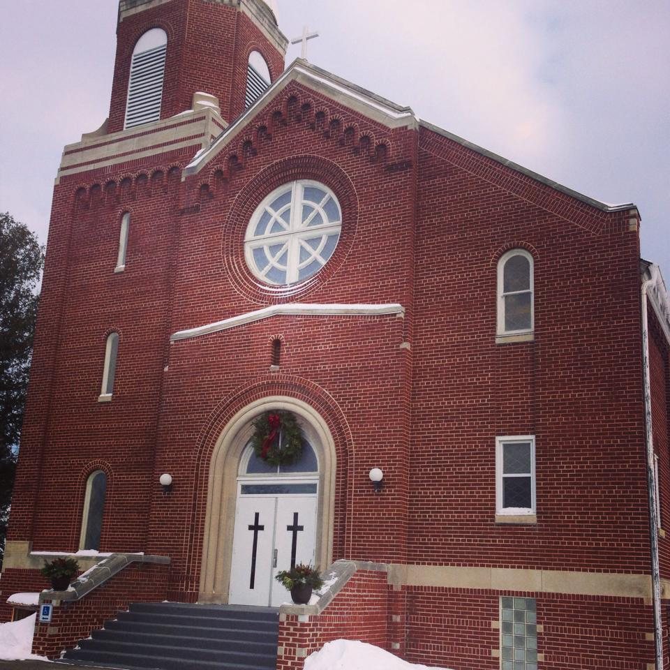 Sts. Peter and Paul Catholic Church - where I received my 1st Communion and attended 2nd grade