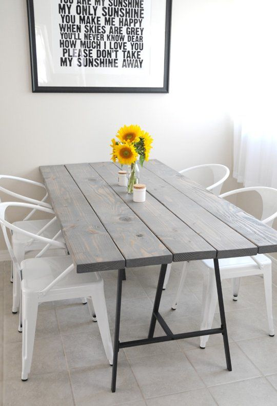 Handmade Table on Apartment Therapy