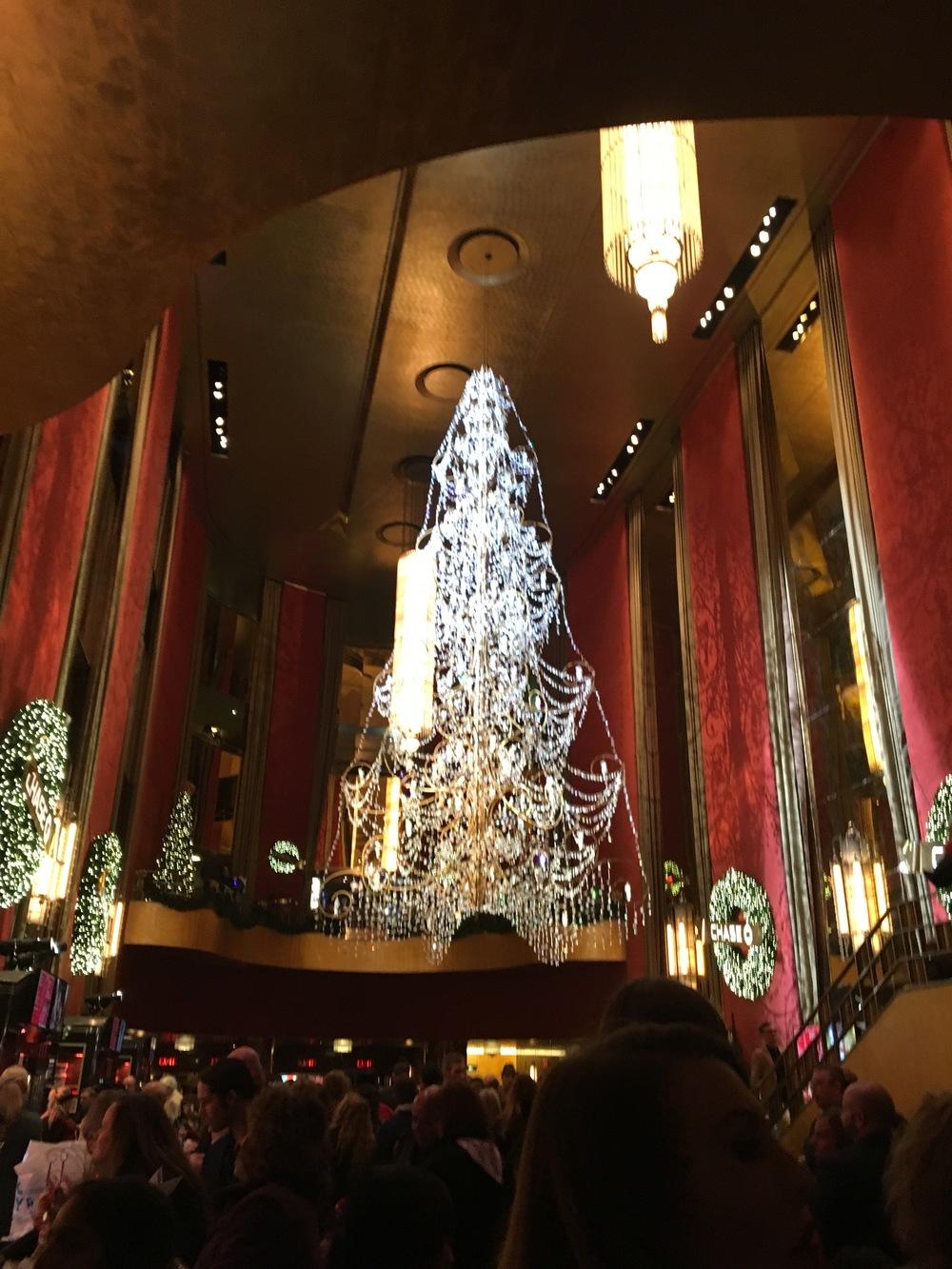Radio City Music Hall lobby