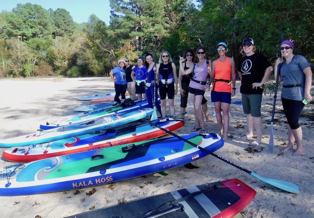 Stand Up Paddle tours, Jordan Lake, NC
