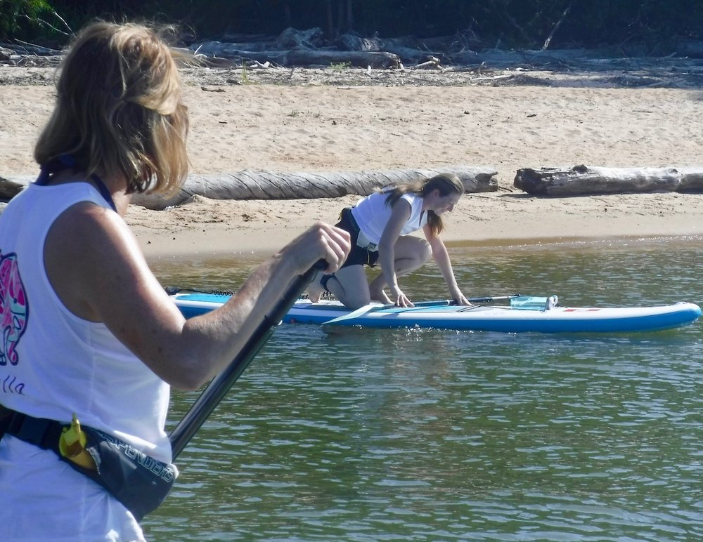 Stand Up Paddle (SUP) Pro on Jordan Lake, NC