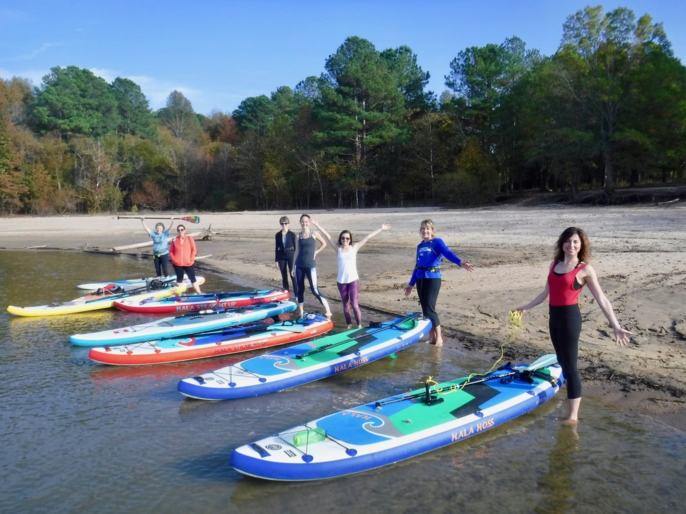 I had such a fun time! And you were so instructive and encouraging! I will be back. Thanks for making my first time paddle boarding the best!   ~ Trish