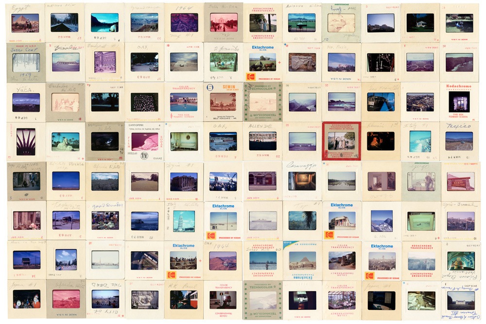 Search for Landscapes   Photographic installation, 2011