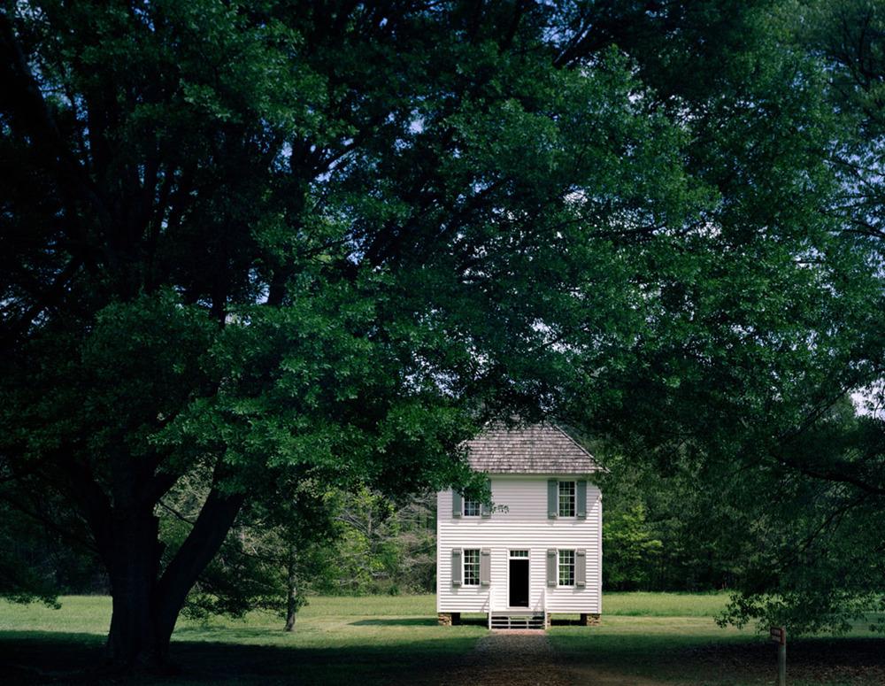 Cherokee Courthouse, New Echota, Georgia  2011, archival pigment print