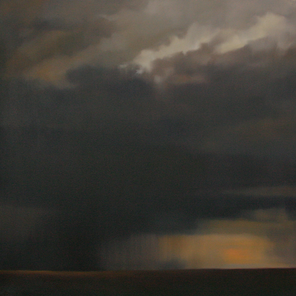 Megan Lightell, Dark Skies  2011, oil on canvas