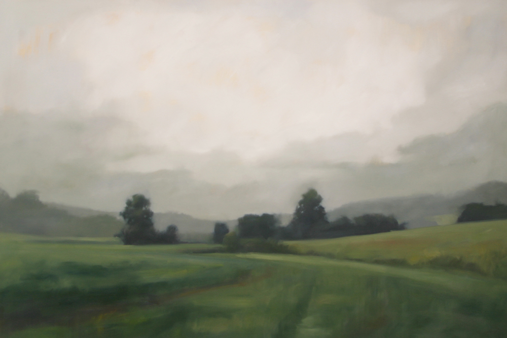 "Private Valley   2013, oil on canvas, 48""x72"""