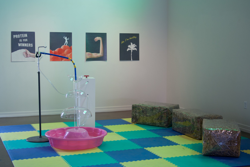Lauren Ruth, 2014, The Charger and Sanitation Seating