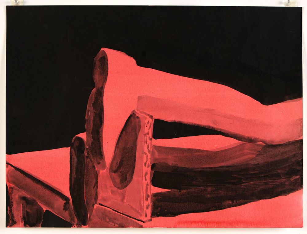 Broken Ankles (Red), 2014