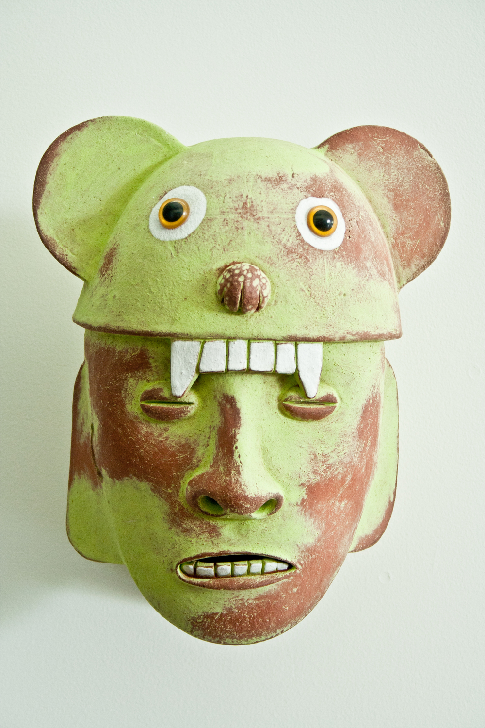 Chartreuse Bear Warrior