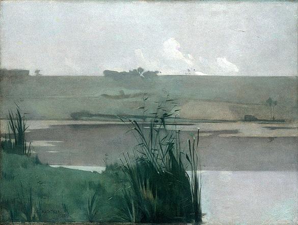Arques-la-Bataille by John Henry Twachtman