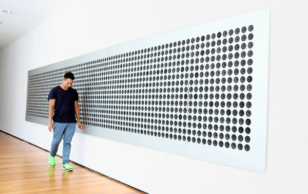 Tristan Perich, MoMA, via NYTimes