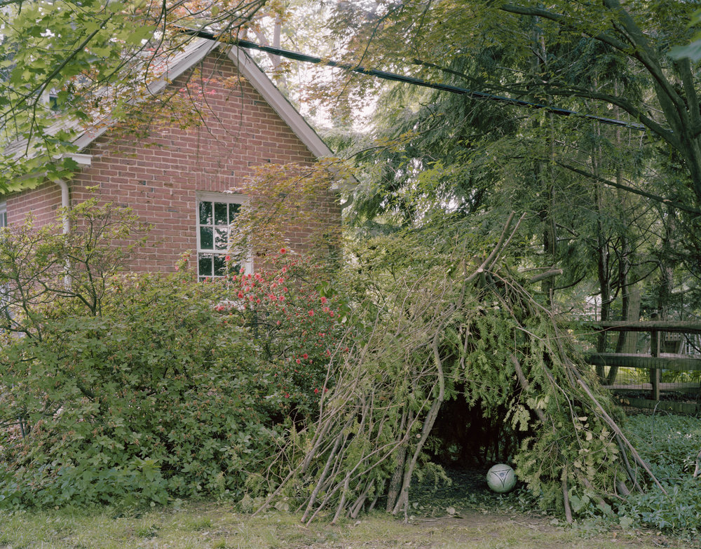 Caroline Allison- Baltimore Hideout , 2016 Archival pigment print; 36 x 46 inches