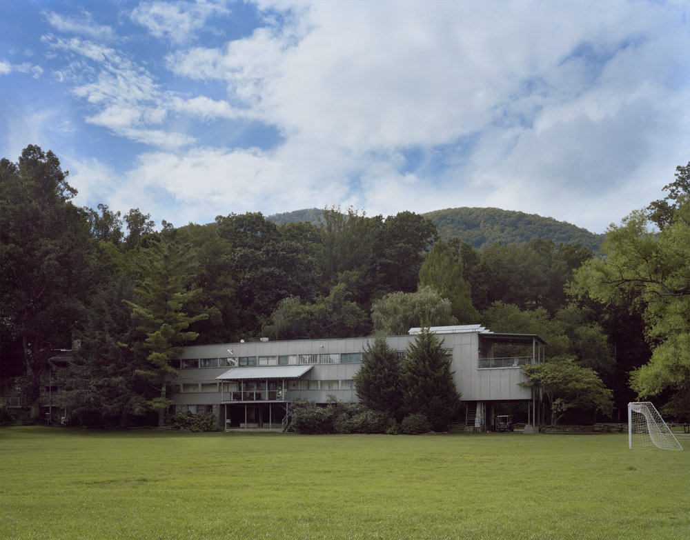 Caroline Allison- Black Mountain College, North Carolina , 2016 Archival pigment print; 36 x 46 inches