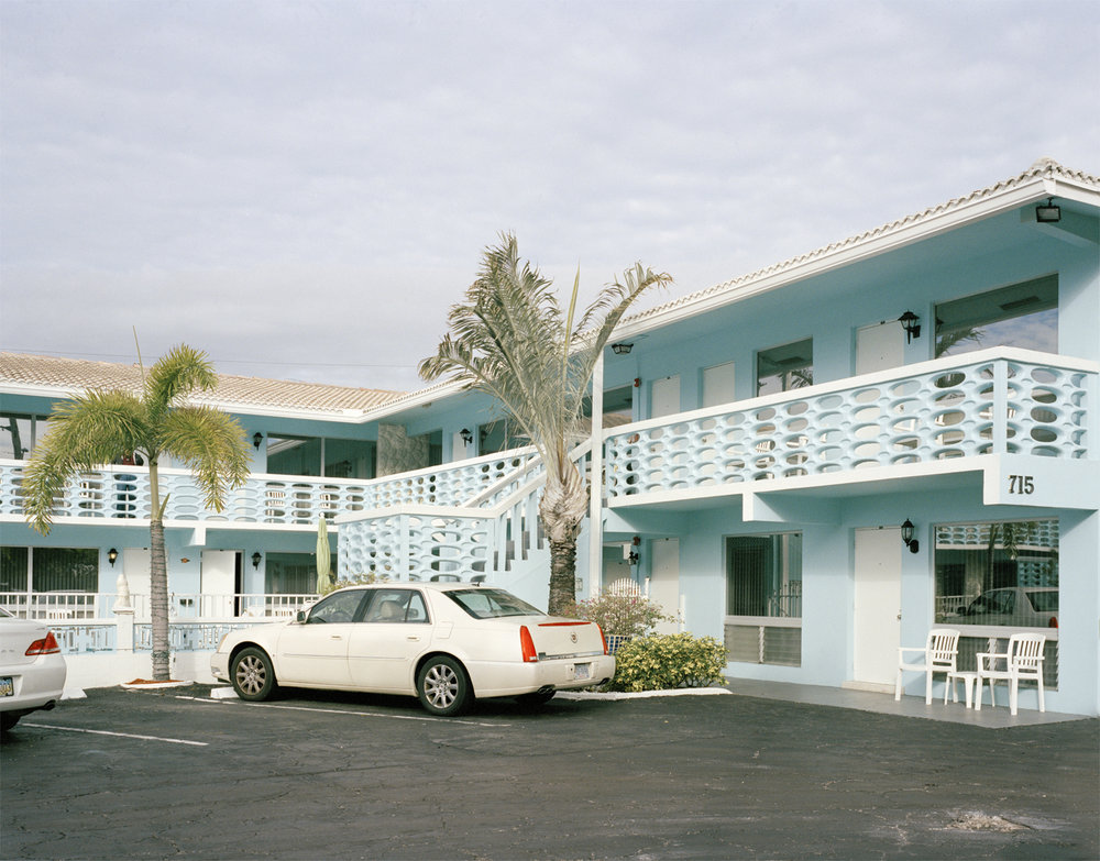 Caroline Allison- Panther Motel , 2016 Archival pigment print; 36 x 46 inches