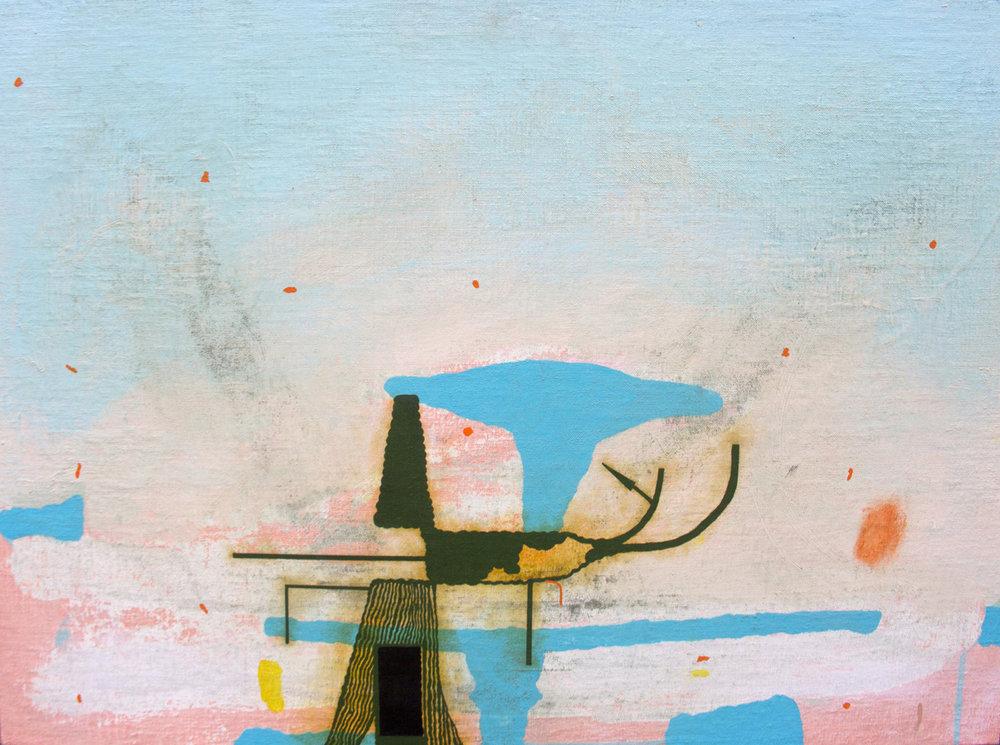 "Tree House, 2015, 21"" x 29"""