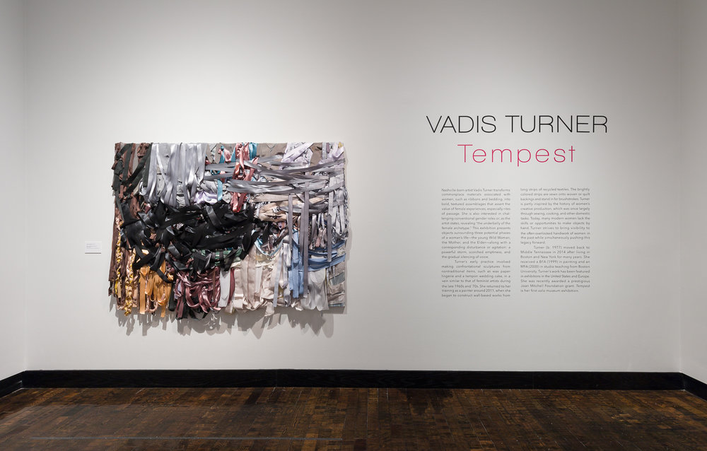 Installation image from Tempest at Frist Center for the Visual Arts, Nashville, Summer  2017