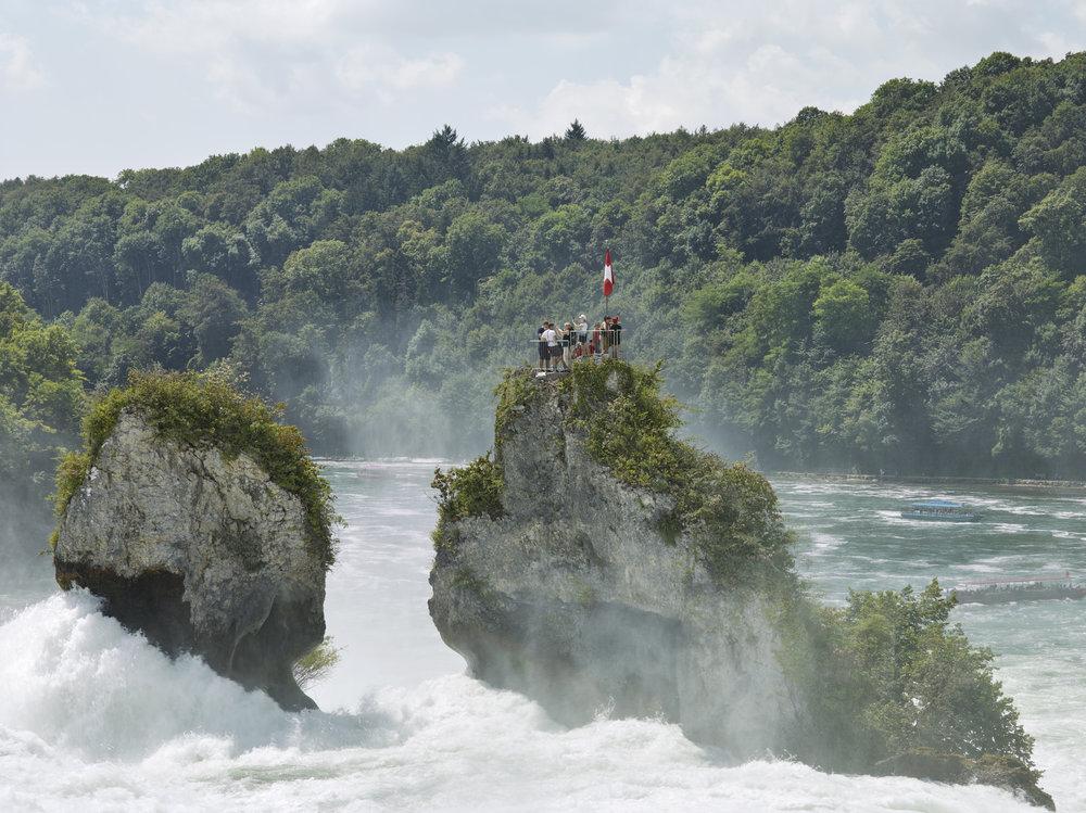 Rhine Falls, Neuhausen, Switzerland, 2016