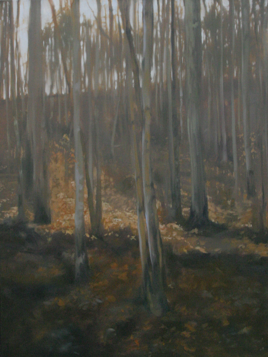 After Autumn oil on canvas, 40 x 30""