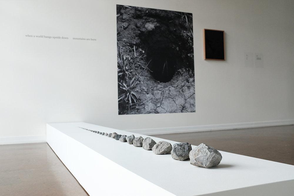 Lenka Clayton & Phillip Andrew Lewis, Rock Fade (Moon Rock), 2019