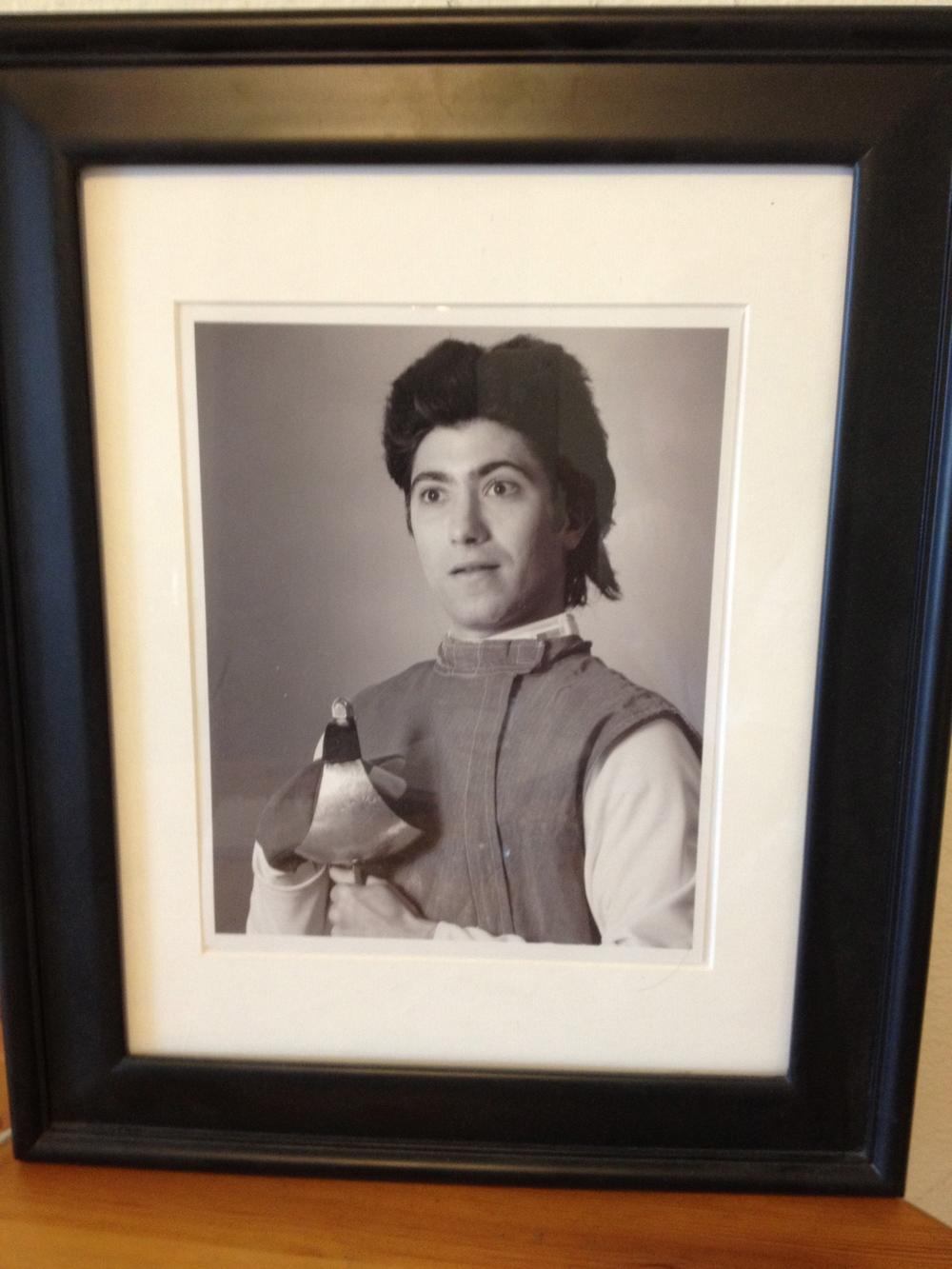 Fencing Russ (Nigel Bicksley): Mascot
