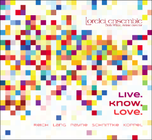 Mary Montgomery Koppel's piece A la lune is featured on Lorelei Ensemble's newly released commercial CD, live.know.love.