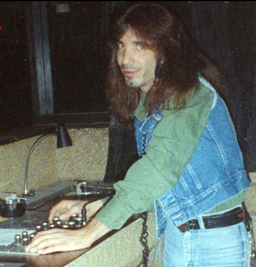 A young Alex Kayne at work.