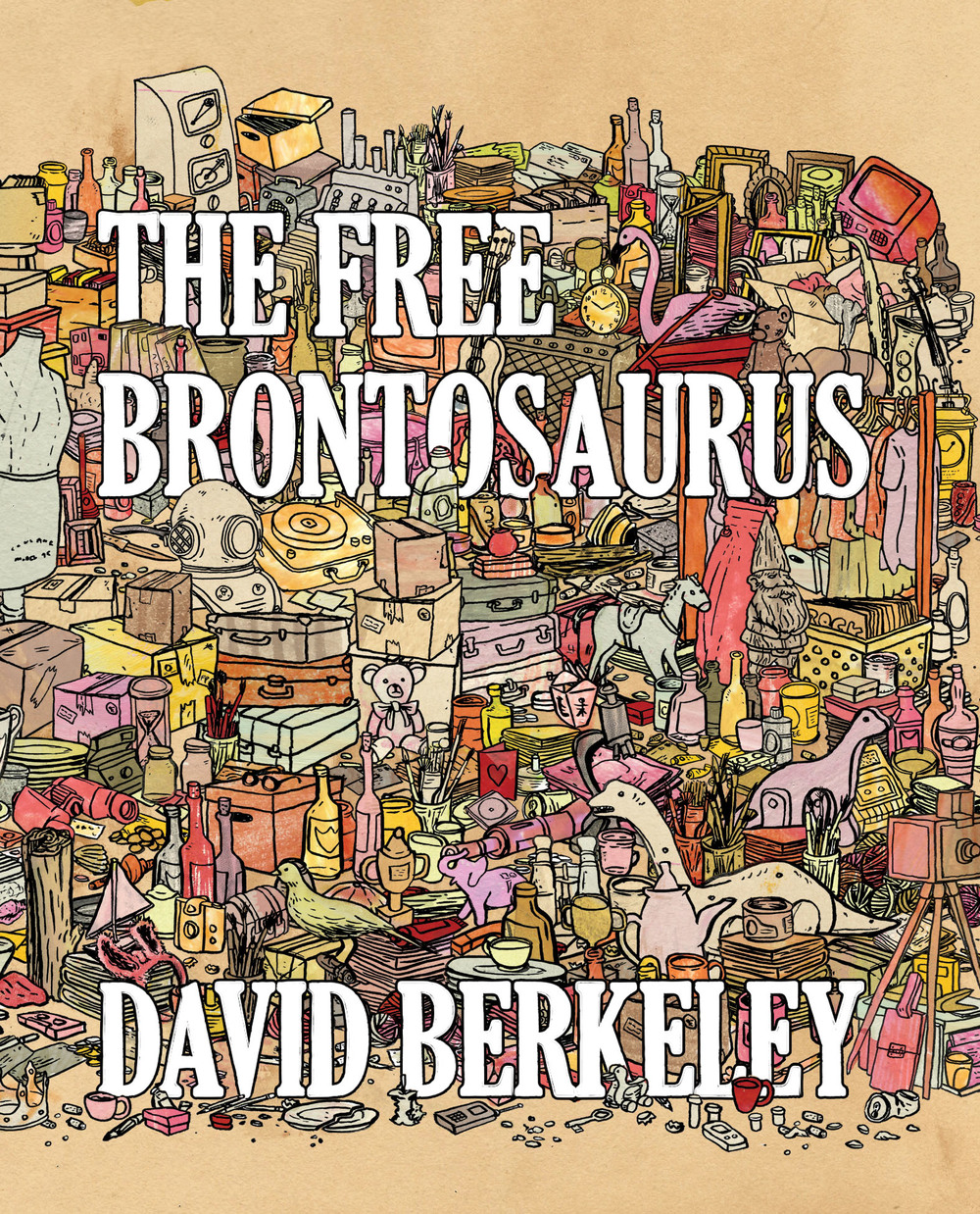 The Free Brontosaurus is a novella comprising ten interweaving stories, complete with an accompanying album of ten songs. All set in the same fictional city, at the same moment in time, minor characters in one story are major characters in another. It is a bit like Olive Kitteridge, if reimagined by Miranda July. These are gently written narratives of isolation, describing characters disconnected from home and community. The book is full of dark humor, sadness and glimmers of joy. Ultimately, the characters' abilities to find beauty in the bizarre connect and redeem them, offering the characters (and us) hope.