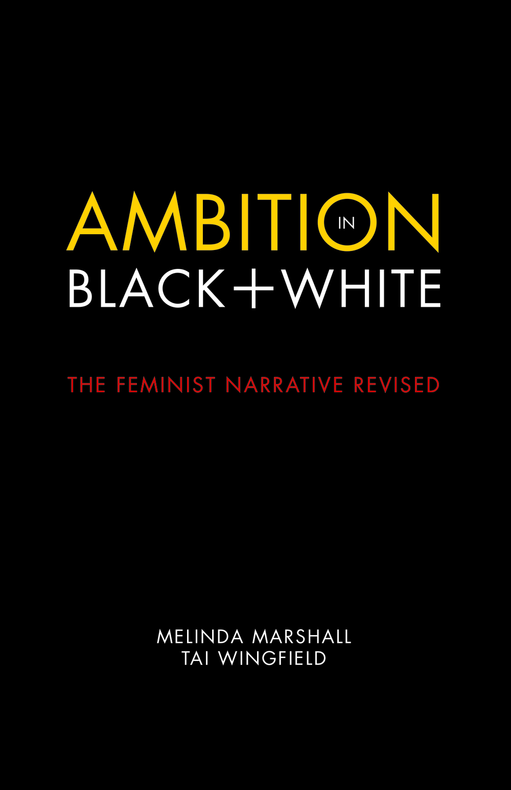Ambition in Black and White Front Cover cmyk.jpg