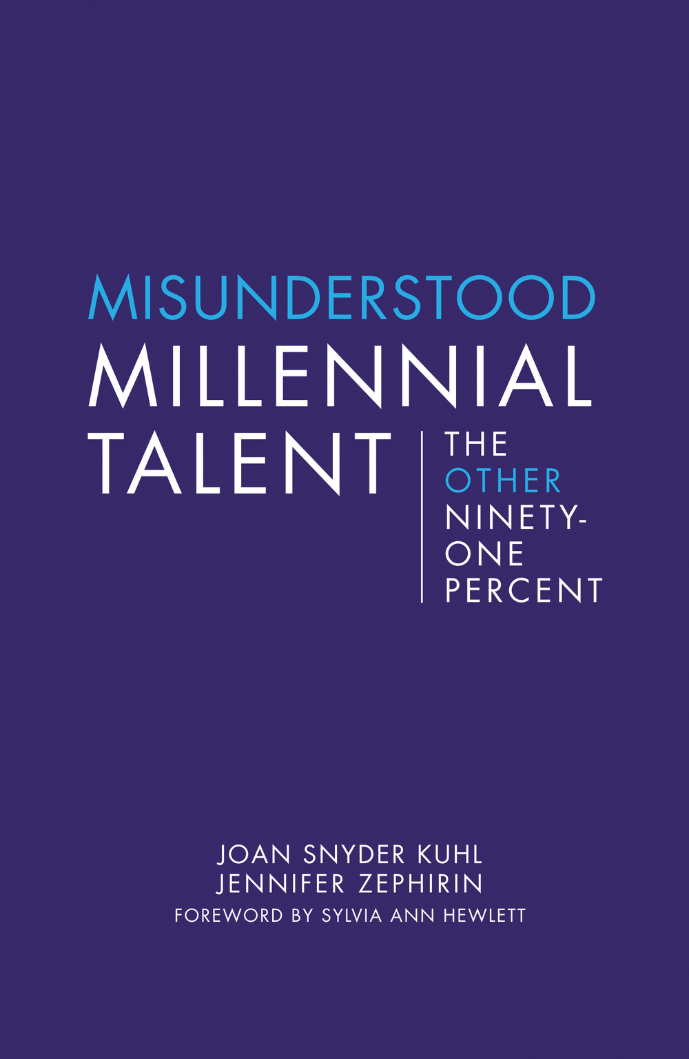 Misunderstood Millennial Talent front cover rgb.jpg