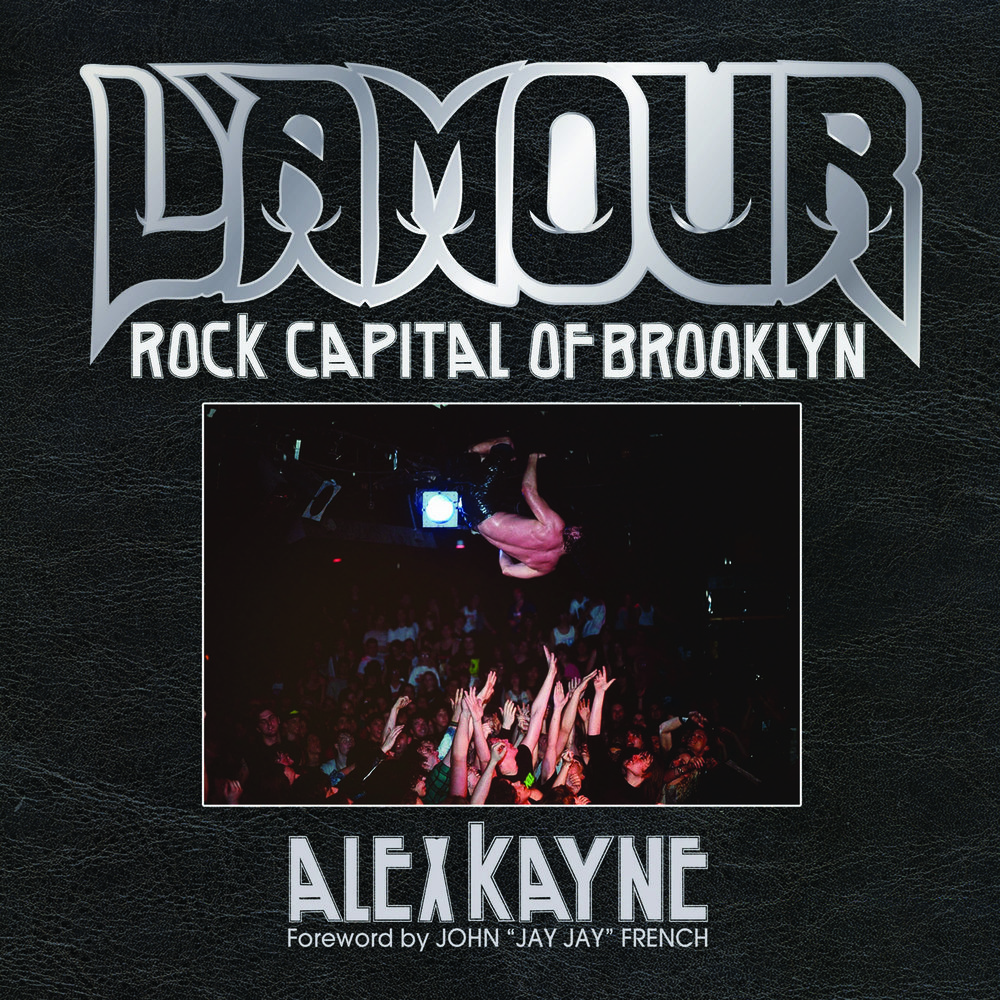 """During the disco drenched year of 1978, 62nd Street in Bay Ridge, Brooklyn was home to L'Amour, a small, unassuming discothéque thriving on a local dance crowd. """"Rock Nights"""" on Thursdays, when started, were brushed off as a bad joke. Polyester disco bouncers sporting the original ape drape and gold chains smirk with utter contempt at the long-haired freaks and burnouts wandering in off the street. In less than a year, blindsided by scores of disgruntled heavy metal misfits desperate for somewhere to see and hear the music that made them tick, the punch line of that bad joke swelled into a quarter-century long tsunami of hell-raising hard rock, heavy metal, thrash, and hardcore mosh pit mayhem that turned a faceless disco into the most famous heavy metal mecca the world has ever seen."""