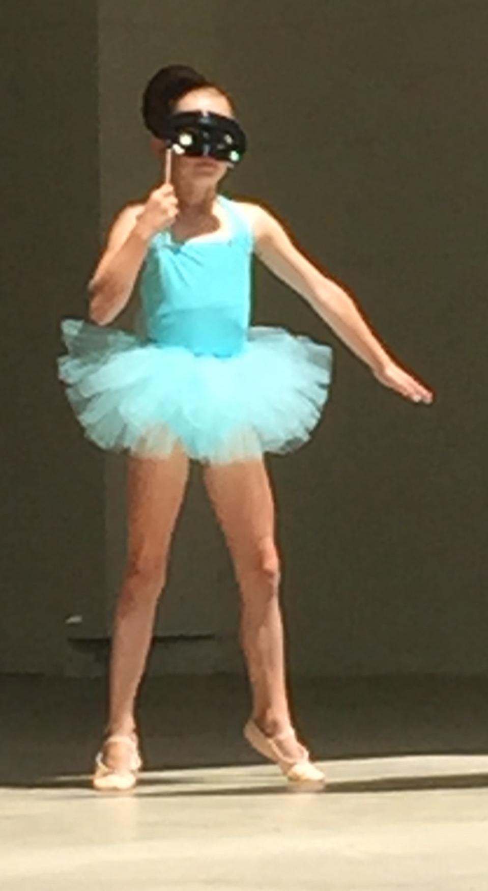 Lia McMillan danced solo!
