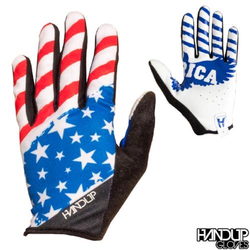 Merica - USA - Red/White/Blue Gloves