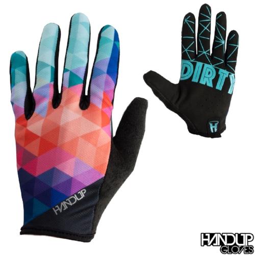 Ride Dirty - Prizm - Teal/Orange Gloves