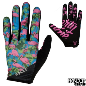 Party Time - Flamingos - Pink/Blue Gloves